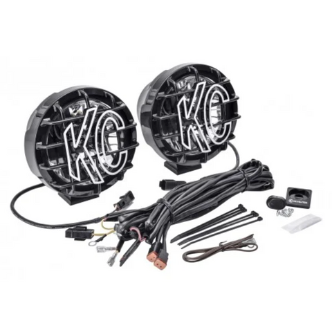 "6"" Pro-Sport with Gravity® LED G6 Pair Pack System - Wide-40 Beam"