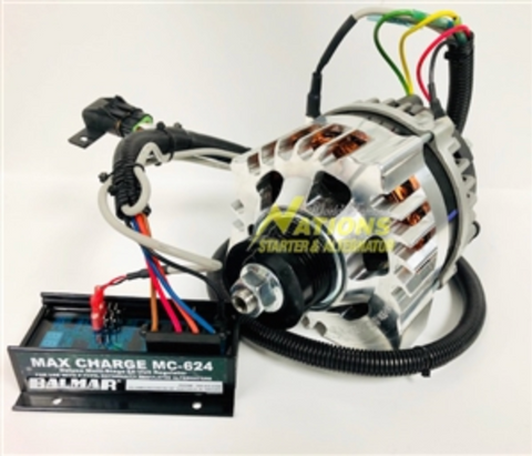 MERCEDES SPRINTER VAN DUAL ALTERNATOR KIT WITH 24 VOLT 150 AMP ALTERNATOR FOR LITHIUM BATTERY