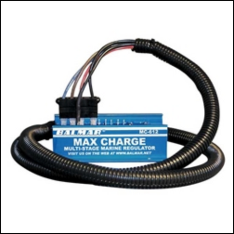 MC614H BALMAR MAX CHARGE DIGITAL 12 VOLT REGULATOR AND TEMP SENSOR