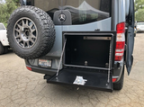 OWL VANS SPRINTER REAR DOOR BOX AND MOUNT (2500 OR 3500, 2007-2018)