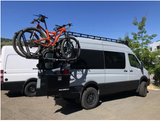 OWL VANS SPRINTER REAR DOOR BOX WITH BIKE RACK MOUNT (2007-2018)