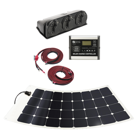 Zamp Solar 100w Flexi Roof Mount Kit