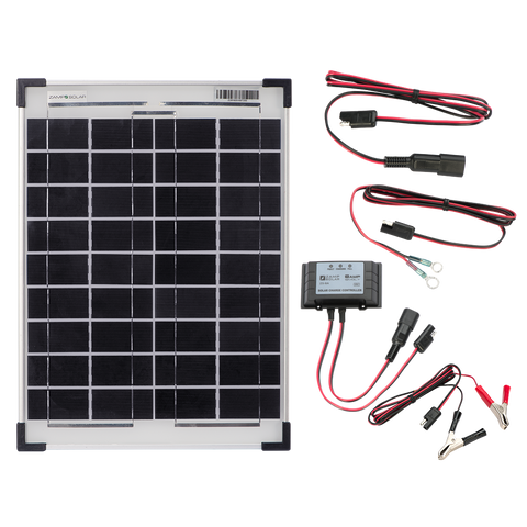 Zamp Solar 20-Watt Kit - Prepackaged - Great for 2-4 Batteries