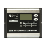 Zamp Solar 30-Amp dual Battery Bank 5-Stage PWM Charge Controller
