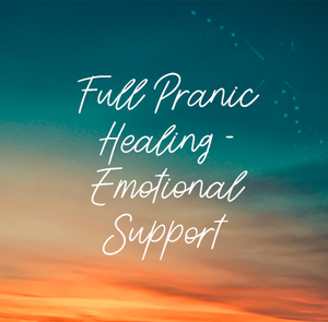 Full Pranic Healing | Emotional Issue Support - Aura and Chakra Clearing, and Cords Cut