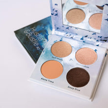 Load image into Gallery viewer, Mavie. Cosmetics, Hustle & Bustle #1 Eyeshadow Palette, Shimmer & Matte Finishes.