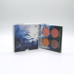 Mavie. Cosmetics, Hustle & Bustle #2 Eyeshadow Palette, Shimmer & Matte Finishes.