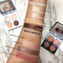 Load image into Gallery viewer, Mavie. Cosmetics, Hustle & Bustle Eyeshadow Palette Collection Bundle, Shimmer & Matte Finishes.
