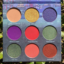 Load image into Gallery viewer, Mavie. Cosmetics, Take Me To... Hong Kong Eyeshadow Palette, Shimmer & Matte Finishes.