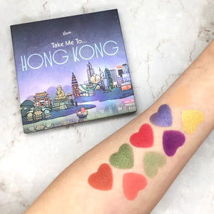 Mavie. Cosmetics, Take Me To... Hong Kong Eyeshadow Palette, Shimmer & Matte Finishes.
