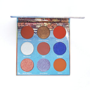 Mavie. Cosmetics, Take Me To... Istanbul Eyeshadow Palette, Shimmer & Matte Finishes.