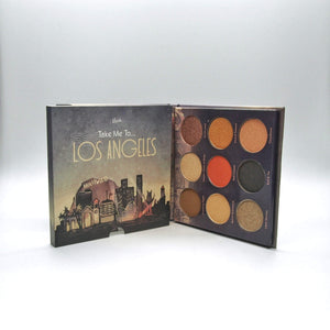 Mavie. Cosmetics, Take Me To... Los Angeles Eyeshadow Palette, Shimmer & Matte Finishes.