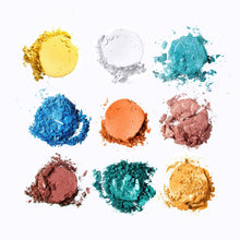 Load image into Gallery viewer, Mavie. Cosmetics, Take Me To... Santorini Eyeshadow Palette, Shimmer & Matte Finishes.