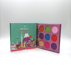 Mavie. Cosmetics, Take Me To... Tokyo Eyeshadow Palette, Shimmer & Matte Finishes.