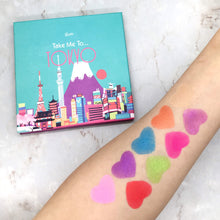 Load image into Gallery viewer, Mavie. Cosmetics, Take Me To... Tokyo Eyeshadow Palette, Shimmer & Matte Finishes.
