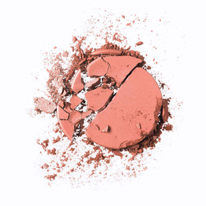 Mavie. Cosmetics, The Motto Blush, I Can And I Will, Nudes and Oranges/Corals Shade, Shimmer Matte Finish.