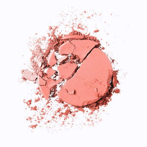 Mavie. Cosmetics, The Motto Blush, Let Your Light Shine, Oranges and Corals Shade, Matte Finish.