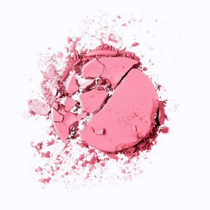 Mavie. Cosmetics, The Motto Blush, Take the Risk or Lose the Chance, Pinks Shade, Shimmer Matte Finish.