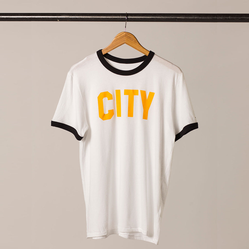 Front view CITY ringer tshirt