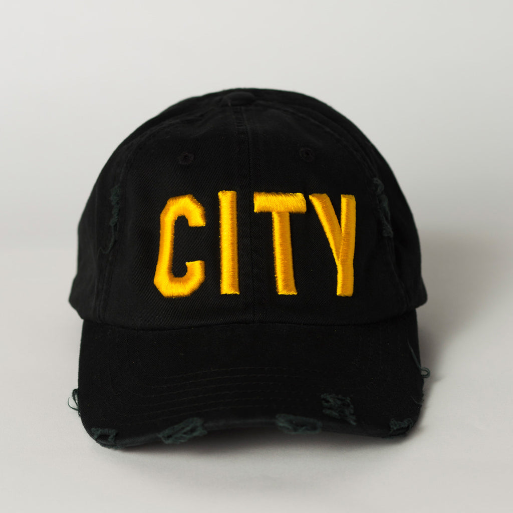 CITY Distressed Baseball Hat