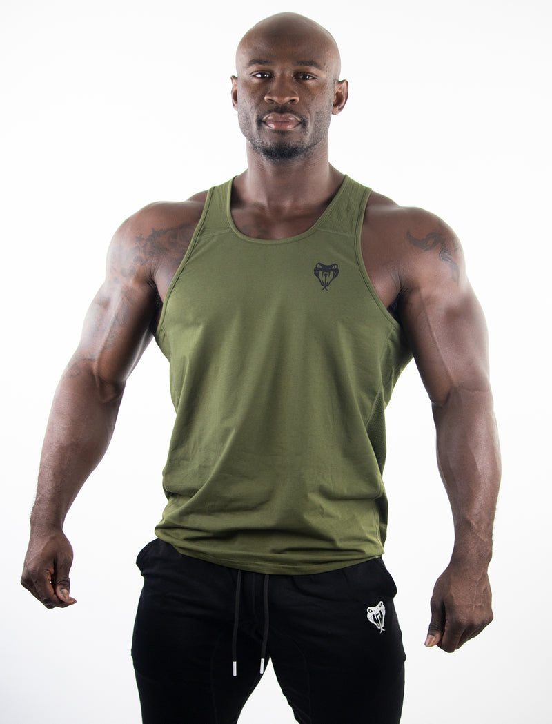 Performance Tank - ARMY GREEN
