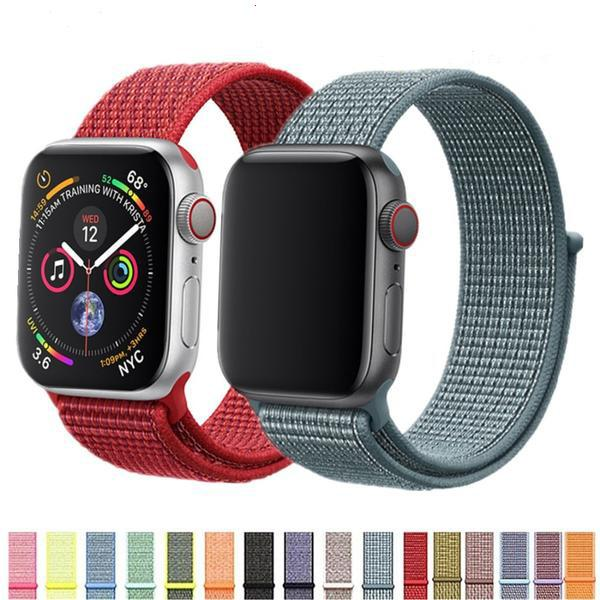 Nylon Strap For Apple Watch Band