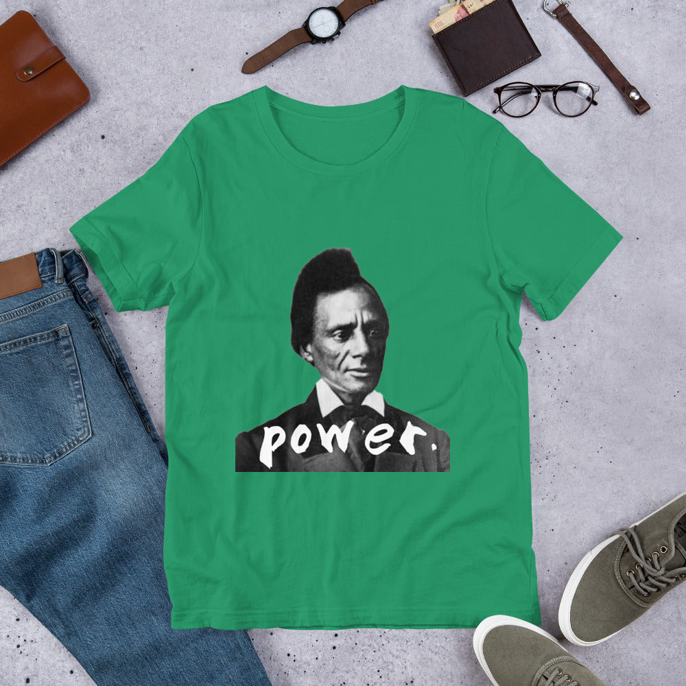 "Charles Lenox Redmon ""power."" Short-Sleeve Unisex T-Shirt by the 1854 Cycling Company"