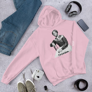 "Harriett Tubman ""freedom."" pullover hoodie by the 1854 Cycling Company"