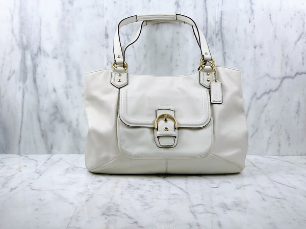 Campbell Leather Belle Carryall