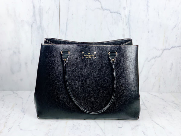Wellesley Fallon Large Leather Carryall