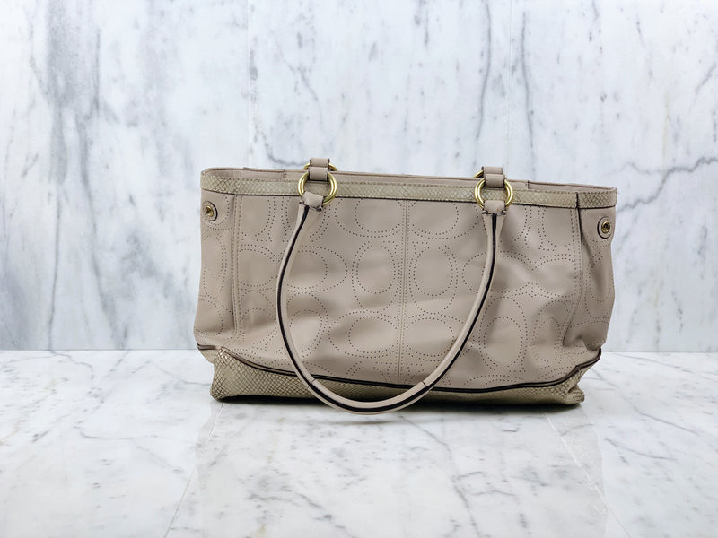 Signature Lasered Monogram Bag