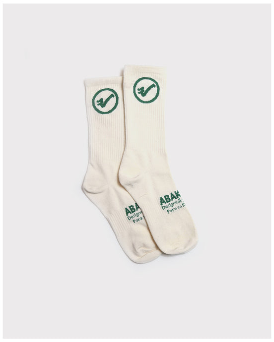 Abakada® Athletic Socks (Cream)