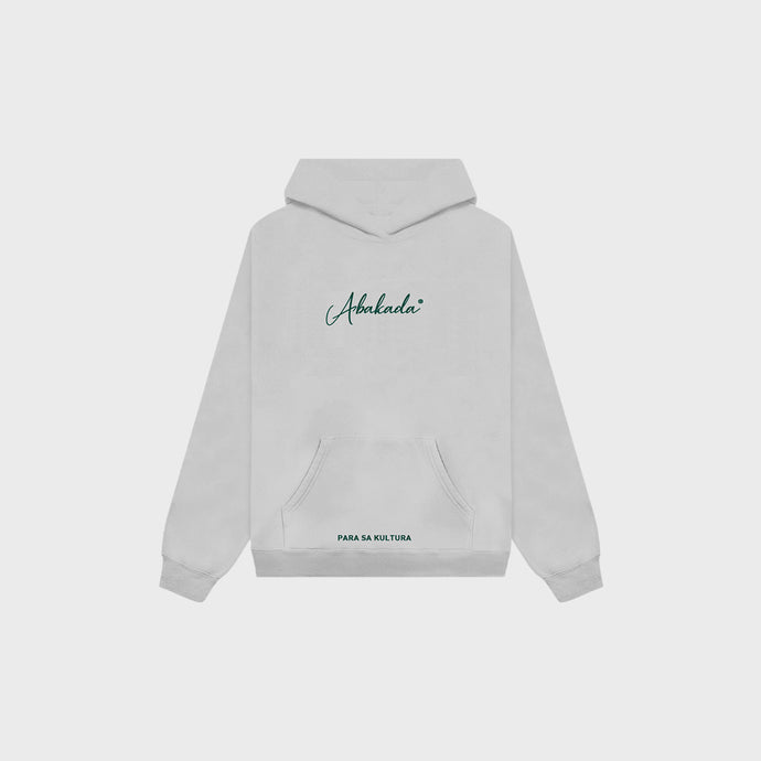 Abakada® Script Hoodie (Heather Grey)