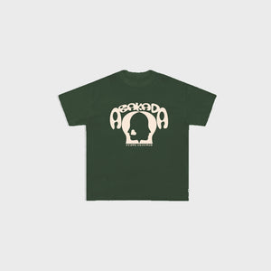 Abakada® Script Tee (Military Green)