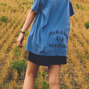 Abakada® Forest Tee (Denim Blue)