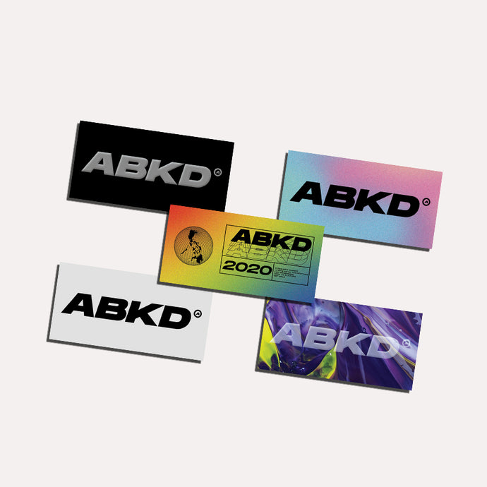 Abakada® Origin Sticker Pack