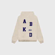 Load image into Gallery viewer, Abakada® Varsity Hoodie (Tan)