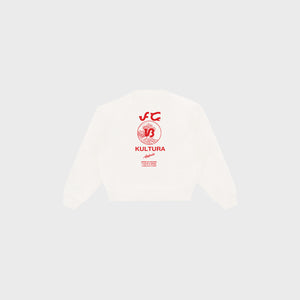 Abakada® Wave Crewneck (White)