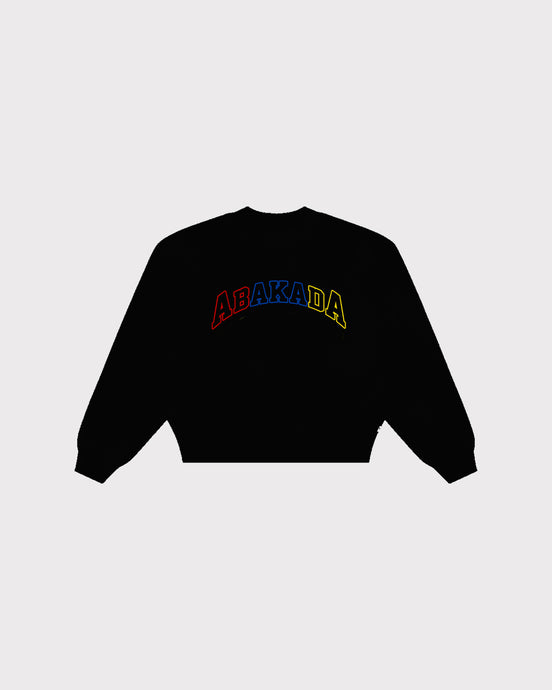 Abakada® Independence Crewneck (Black)