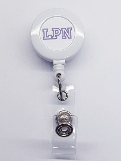 LPN Custom Badge Reel