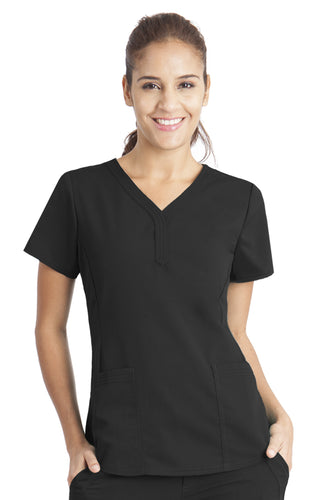 2167 Healing Hands Jane Top in Black