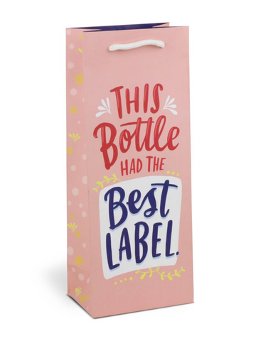 Emily McDowell - Best Label Wine Bag