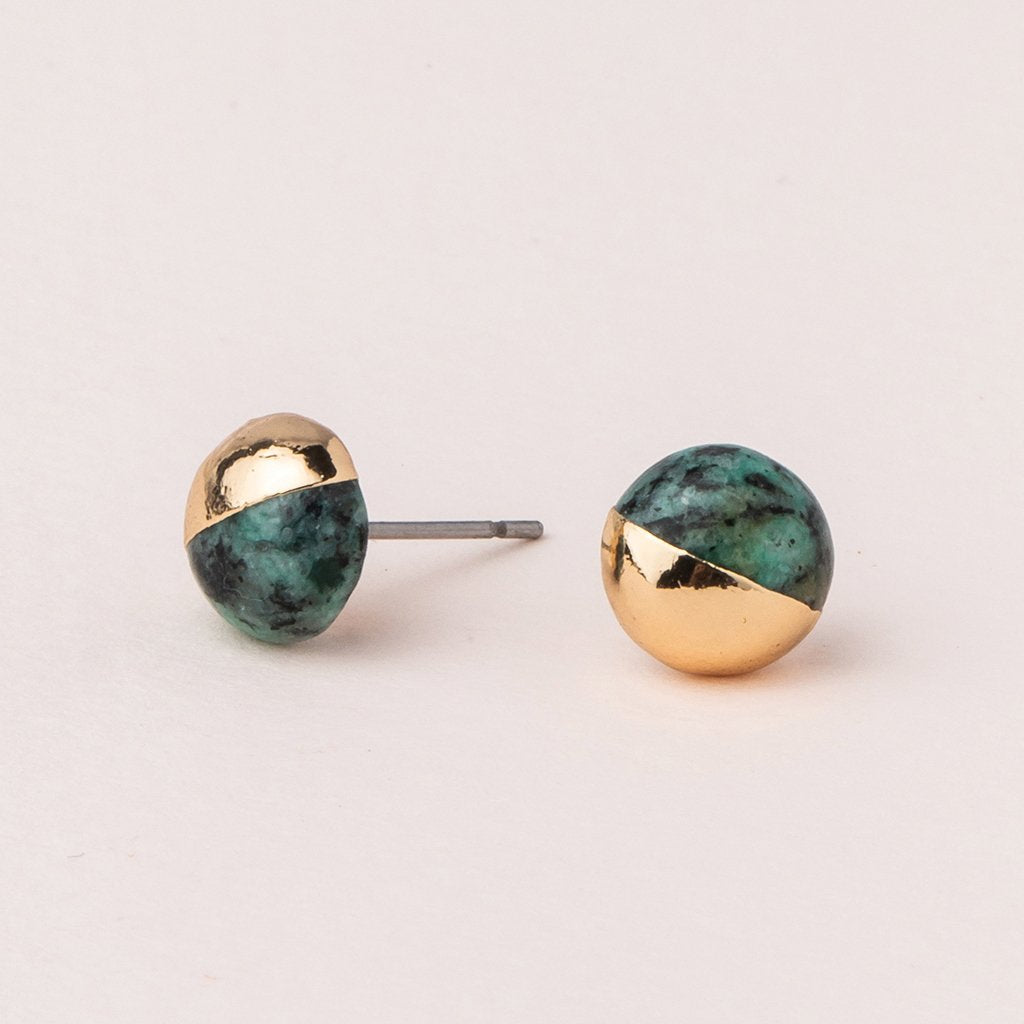 Scout Curated Wears - Dipped Stone Stud Earrings