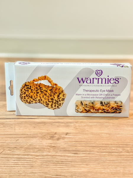 Warmies Eye Mask - Leopard