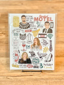 Citizen Ruth - Schitt's Creek Fandom Print