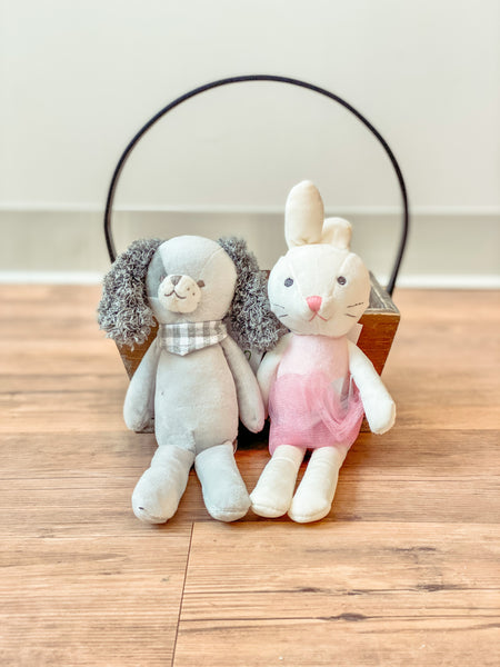 Gifts for Little Ones - Super Soft Plush Dolls {2 Styles Avail.}
