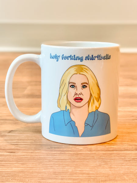 Citizen Ruth - Holy Shirtballs! The Good Place Mug