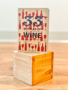 33 Bottles of Red Wine Journal