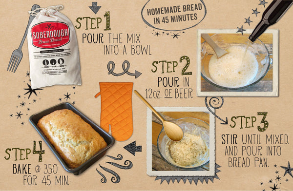 Soberdough Bread Mixes {8 Flavors Avail.}