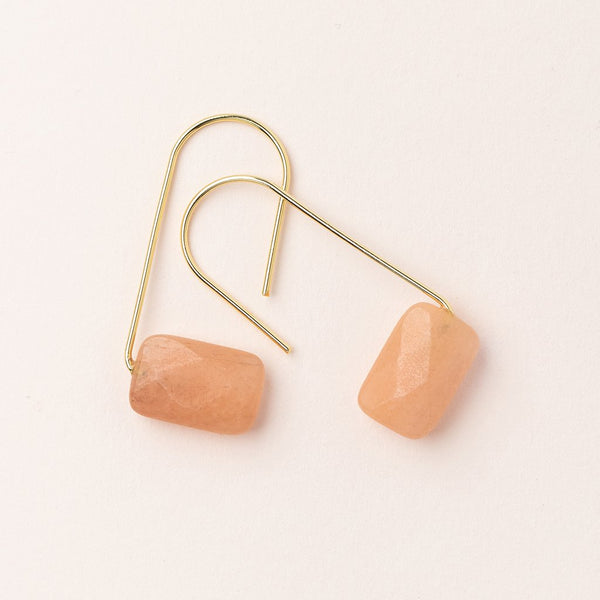 Scout Curated Wears - Floating Stone Earrings
